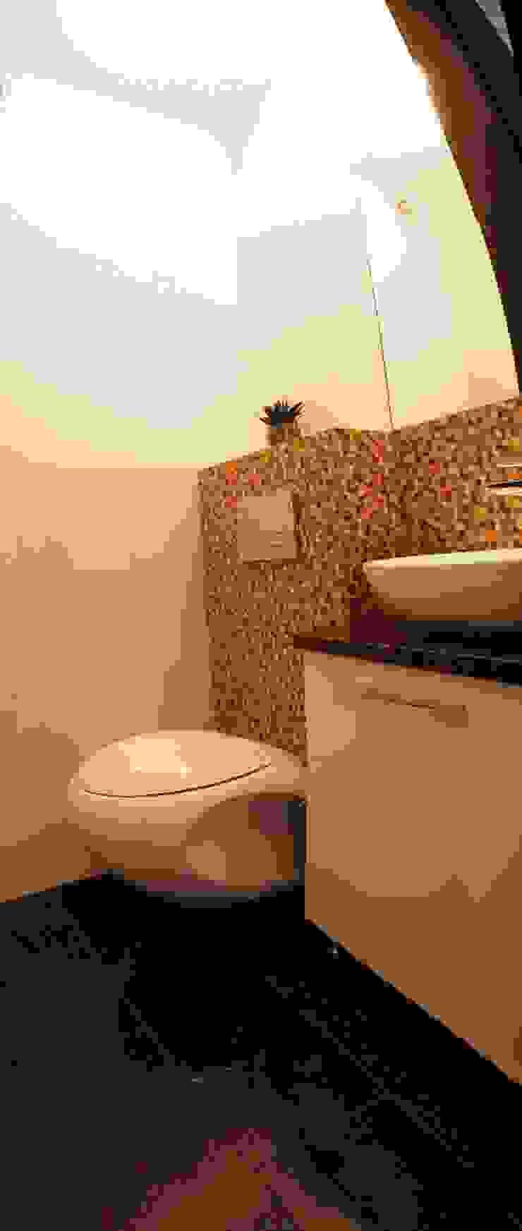 Geometria i Klasyka Nowoczesna łazienka od DLProjectus Nowoczesny