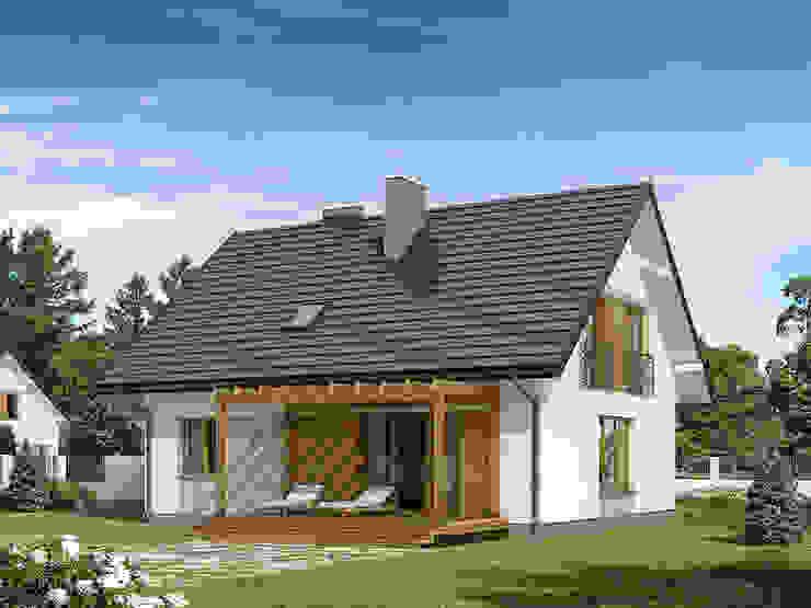 منازل تنفيذ Biuro Projektów MTM Styl - domywstylu.pl,