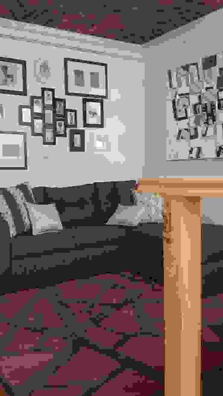 Nowoczesny salon od Paola Hernandez Studio Comfort Design Nowoczesny