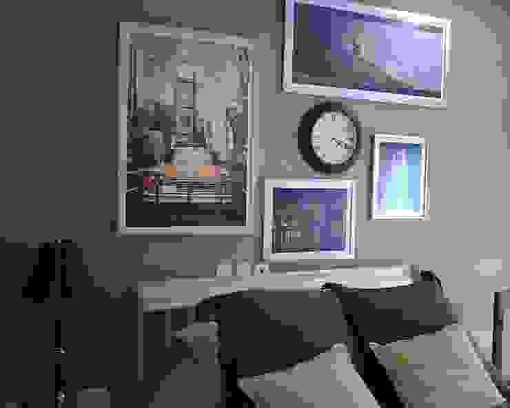 Antes y después Dormitorios modernos de Paola Hernandez Studio Comfort Design Moderno