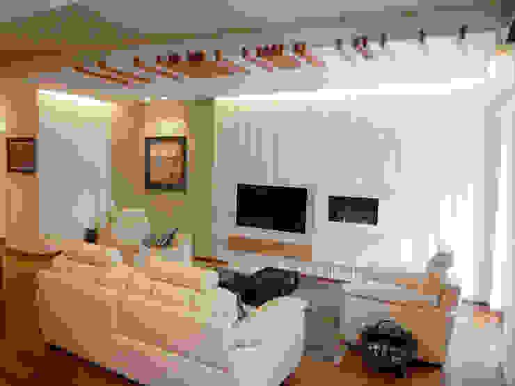 Casa AS Soggiorno moderno di Nicola Sacco Architetto Moderno