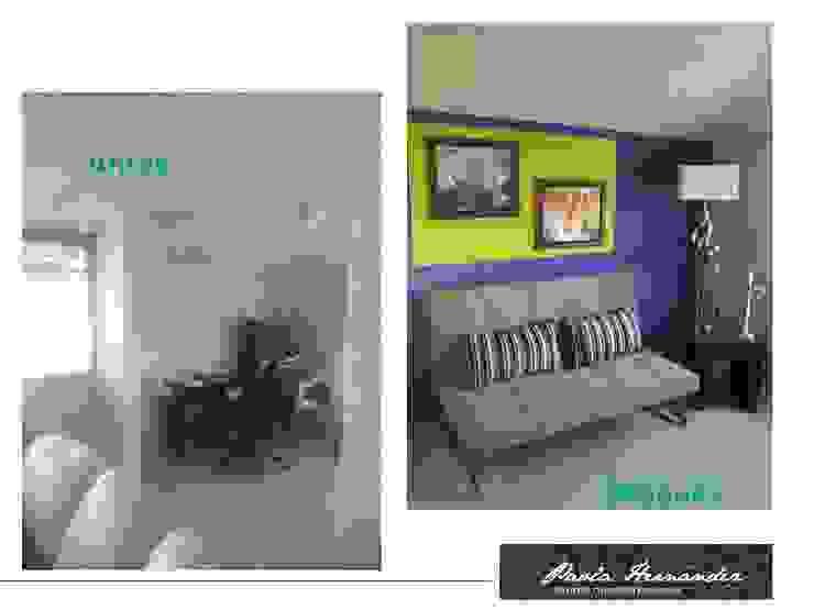 Proyecto Casas modernas de Paola Hernandez Studio Comfort Design Moderno