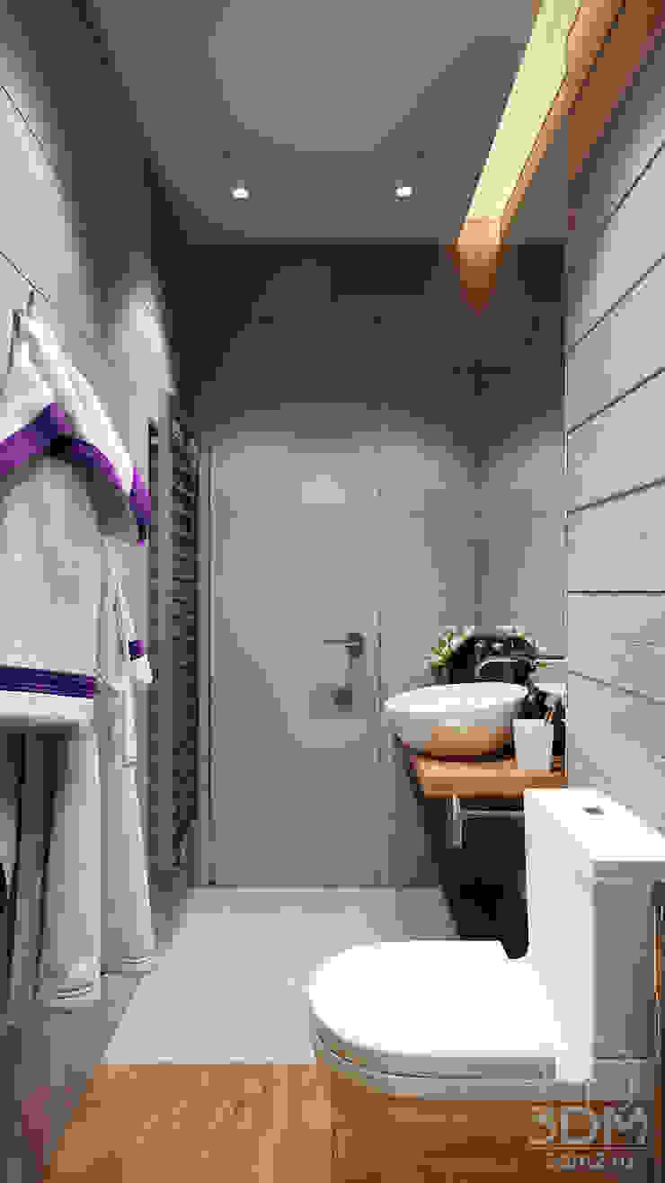 Проект 003: Ванная Ванная комната в стиле минимализм от студия визуализации и дизайна интерьера '3dm2' Минимализм