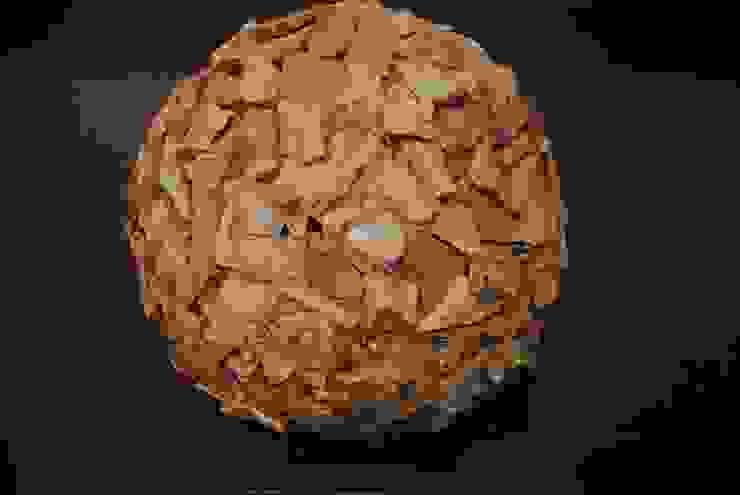 Holz Kugel von Haedi-Flor Meisterbetrieb Rustikal Holz Holznachbildung