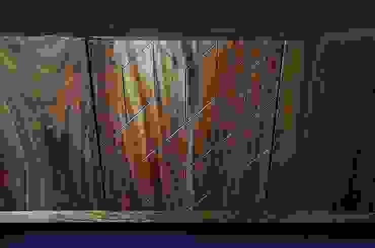 Credenza Cubika de Design + Concept Moderno Madera maciza Multicolor