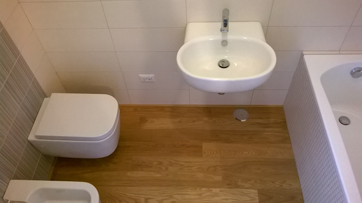 Modern bathroom by Nicola Sacco Architetto Modern