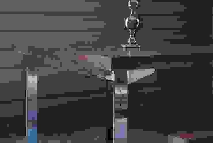 Mesa encino Cromo de Design + Concept Ecléctico