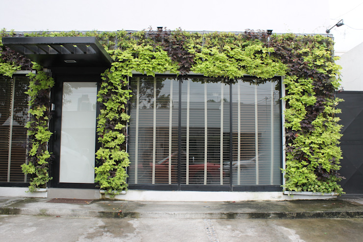 Casas de estilo  por HUICHOL, Moderno
