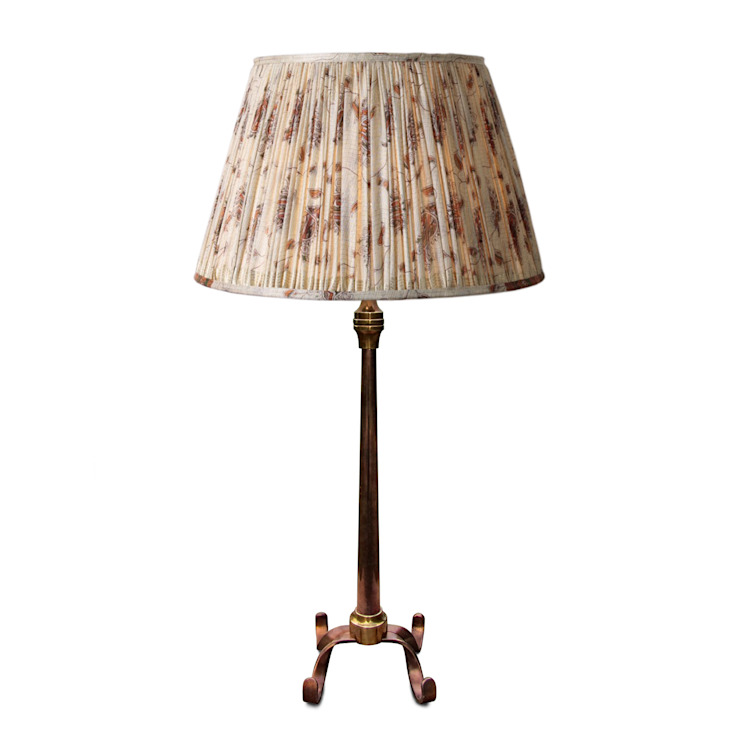'Arts and Crafts Table Lamp' Perceval Designs Living room Copper/Bronze/Brass