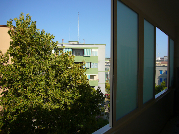 Balcon, Veranda & Terrasse modernes par Nicola Sacco Architetto Moderne