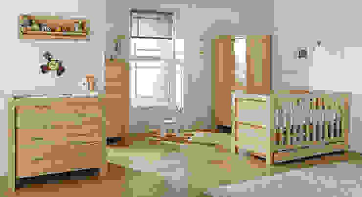 Milan 6 Piece Room Set - Reclaimed Oak: minimalist  by Tutti Bambini, Minimalist