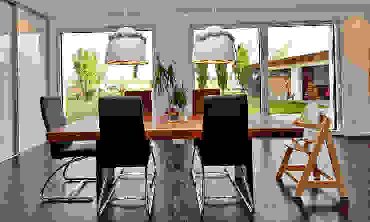 Minimalist living room by hilzinger GmbH - Fenster + Türen Minimalist