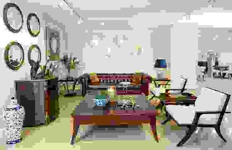 Salas de estilo moderno de AHMET TÜRKMEN MOBİLYA VE DEKORASYON Moderno