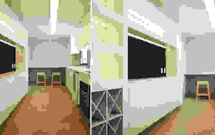 Casa da Barra Cozinhas modernas por blaanc Moderno