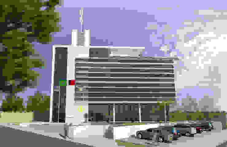 CREA-PB Casas modernas por Martins Lucena Arquitetos Moderno