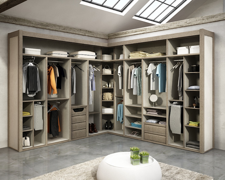 Dressing room by TODOMADERA ESTEPONA, Modern