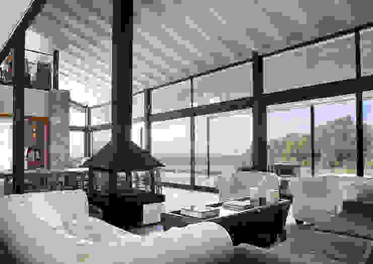 Living room by ARQ.TEC SURIS ASSOCIATS SLP