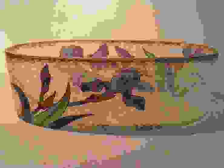 Floreira Arte Nova v por Downton Cascais Antiques Eclético Vidro