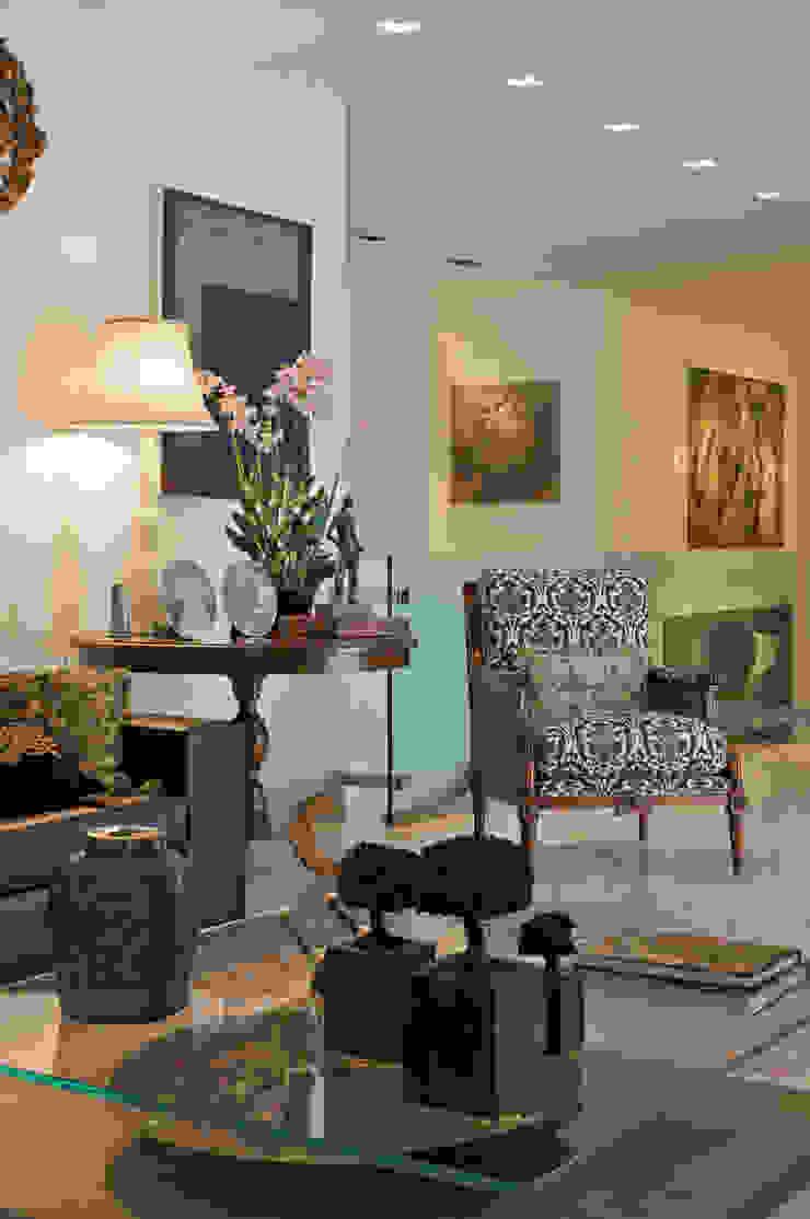 COBERTURA LOURDES Salas de estar modernas por Cassio Gontijo Arquitetura e Decoração Moderno
