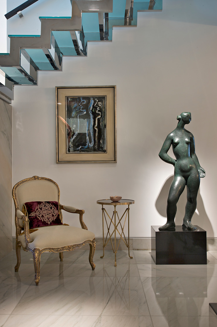 COBERTURA LOURDES Corredores, halls e escadas modernos por Cassio Gontijo Arquitetura e Decoração Moderno