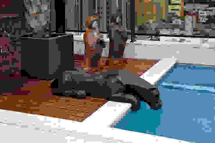 COBERTURA LOURDES Varandas, alpendres e terraços modernos por Cassio Gontijo Arquitetura e Decoração Moderno