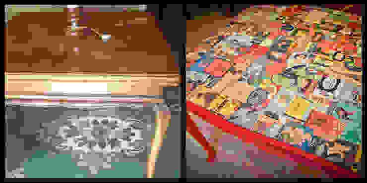 Mesa de jantar reciclada por Restauro em Sintra