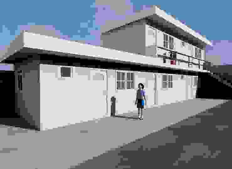 ANEXO DEPARTAMENTOS Casas minimalistas de M4X Minimalista Hierro/Acero