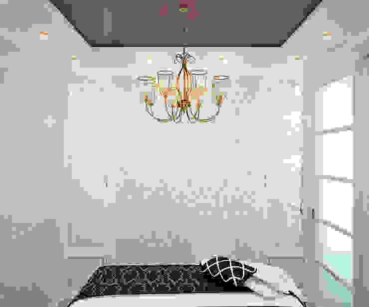Французский стиль для современной спальни Студия дизайна ROMANIUK DESIGN Спальня в стиле модерн