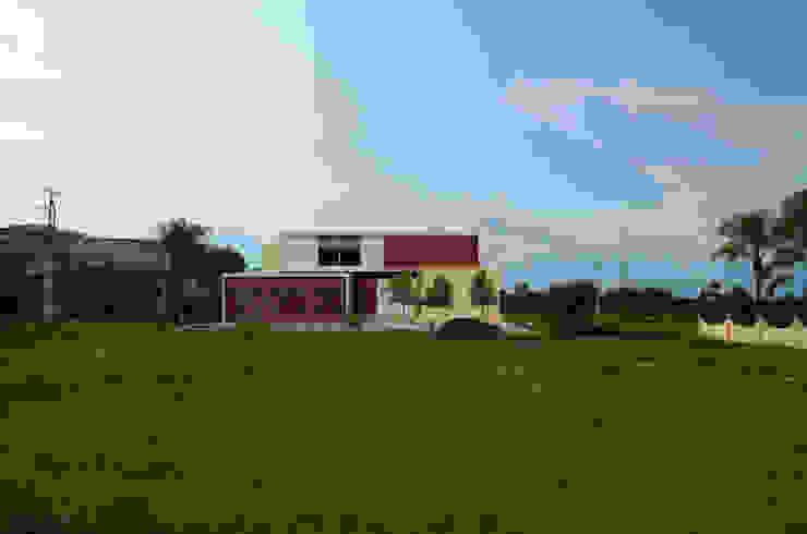 CASA CF-A Casas modernas de Villanueva Fernandez Arquitectos Moderno Mármol