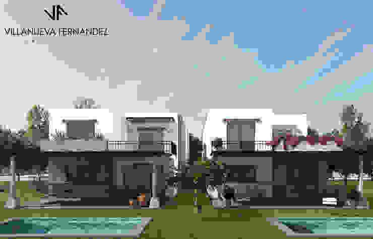 CASAS ZIRANDARO Casas coloniales de Villanueva Fernandez Arquitectos Colonial Madera maciza Multicolor