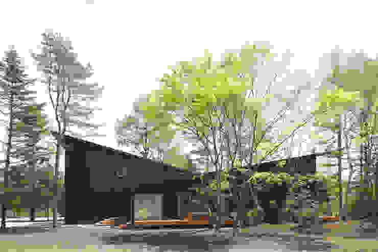ハイパーギア軽井沢の家 モダンな 家 の 株式会社 SAITO ASSOCIATES モダン