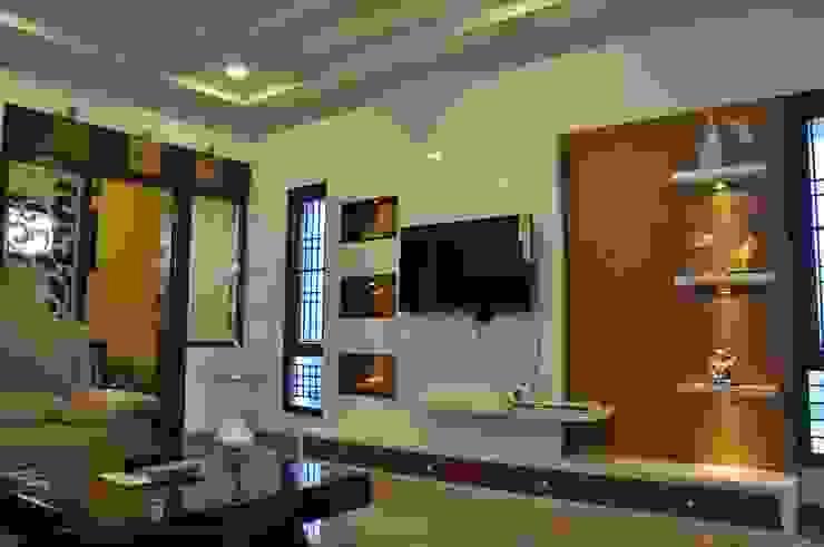 Dr.Z.S.'s Residential House Modern living room by DESIGNER GALAXY Modern