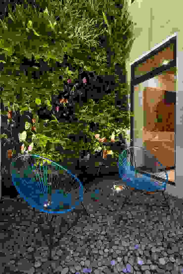 Casa Ming Jardines de estilo moderno de LGZ Taller de arquitectura Moderno Piedra