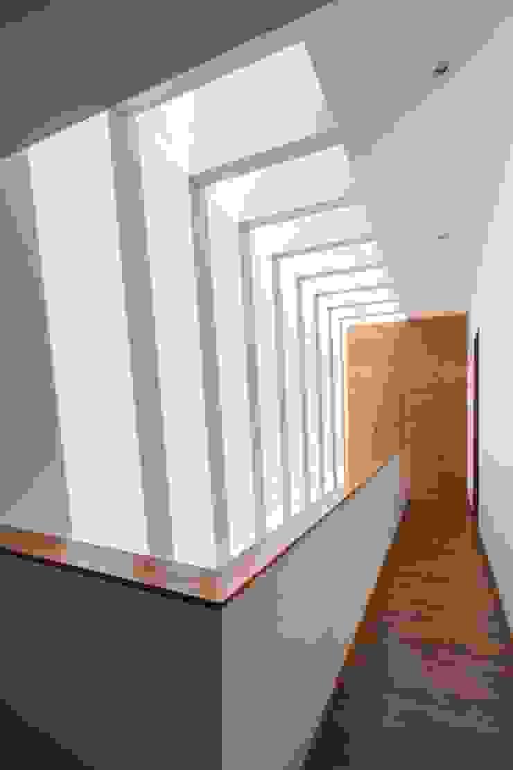 Moderner Flur, Diele & Treppenhaus von LGZ Taller de arquitectura Modern Holzwerkstoff Transparent