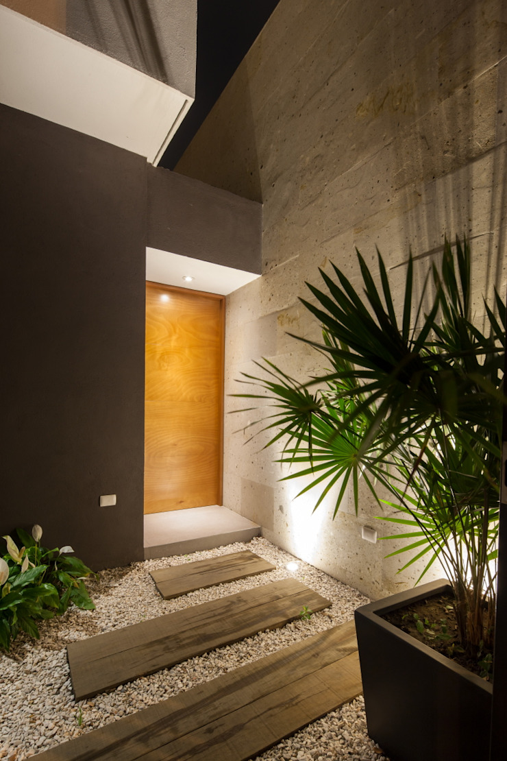 Casa Ming Puertas y ventanas modernas de LGZ Taller de arquitectura Moderno Madera Acabado en madera