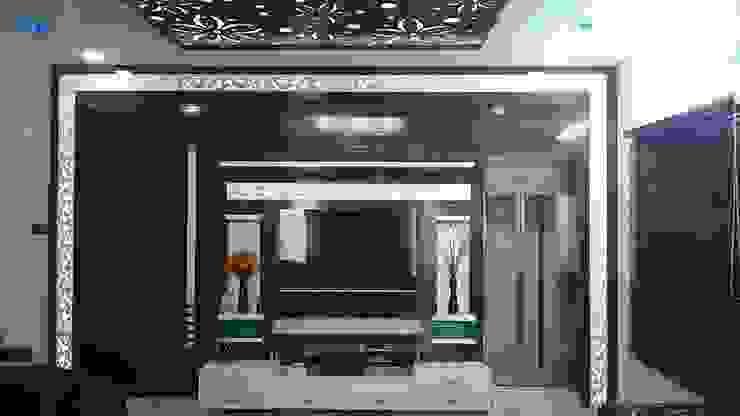 S RESIDENCE Modern living room by DESIGNER GALAXY Modern
