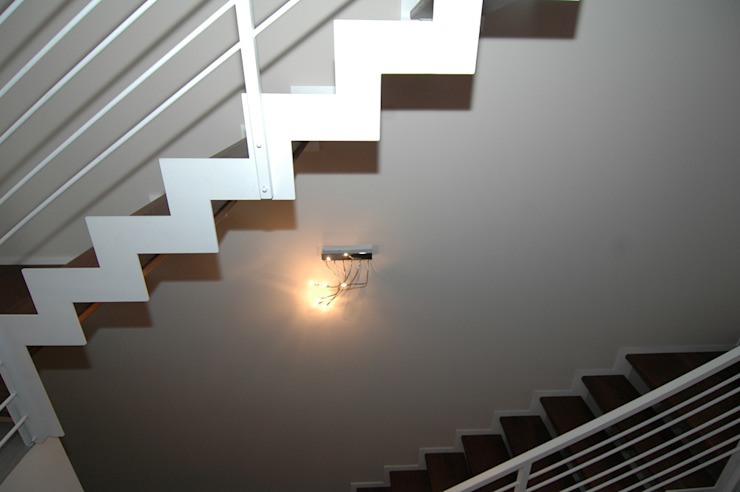 SPEZIALE SCALE Corridor, hallway & stairsStairs Iron/Steel White
