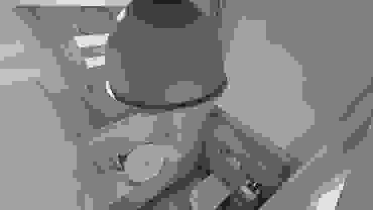 Wizualizacja Minimalistyczna łazienka od Katarzyna Wnęk Minimalistyczny