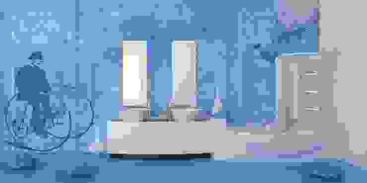 Classic style walls & floors by PIXIE progetti e prodotti Classic