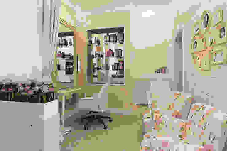 Мини салон красоты в Ессентуках Рабочий кабинет в стиле кантри от Алёна Демшинова Кантри Известняк