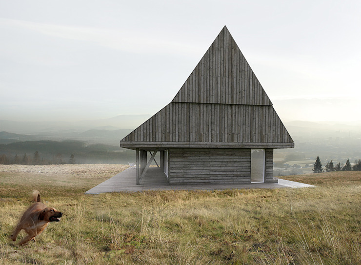 Minimalist house by BASK grupa projektowa Minimalist
