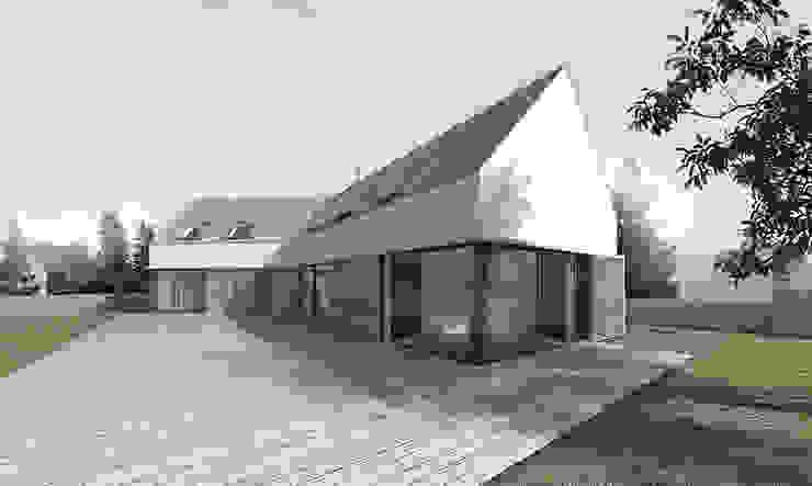 Дома в стиле минимализм от BASK grupa projektowa Минимализм