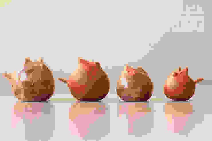 Ositos para llevar sal o mermelada a la mesa: Cocinas de estilo  por La comarca