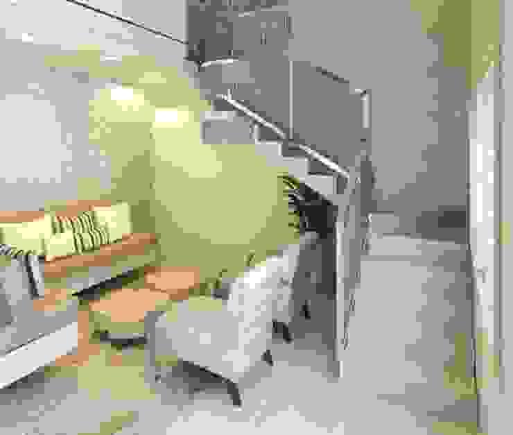 Interiores Salas de estar modernas por Patrícia Alvarenga Moderno