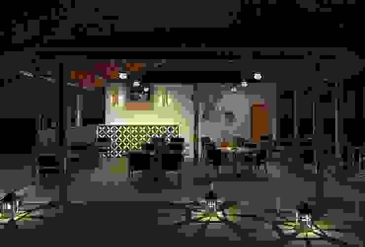 Interiores Cozinhas rústicas por Patrícia Alvarenga Rústico