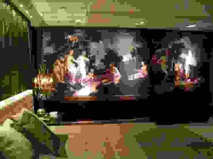 Mostra Casa Nova 2007 Quartos clássicos por ANNA MAYA ARQUITETURA E ARTE Clássico Madeira Efeito de madeira