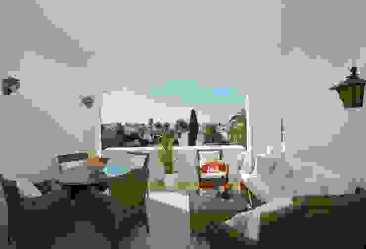 Klassieke balkons, veranda's en terrassen van Gebauer Design Klassiek
