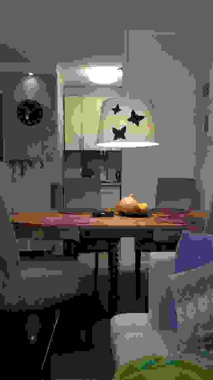 Ruang Makan Modern Oleh Studio Projektowania doMIKOart Modern