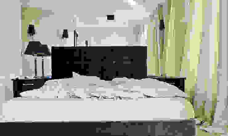 Camera da letto moderna di PIKSTUDIO Moderno