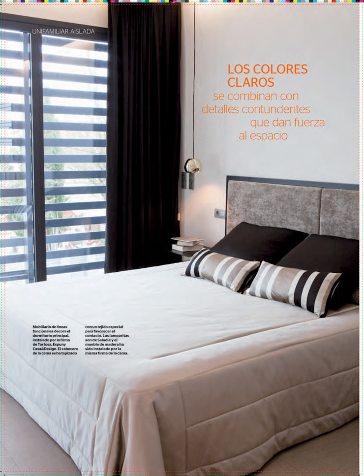 Modern style bedroom by espunydesign Modern